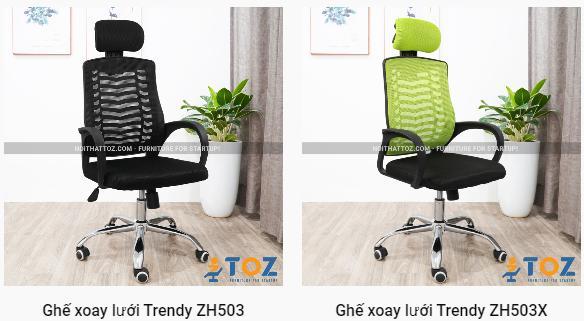 Mua ghế lưới xoay cho văn phòng hiện đại