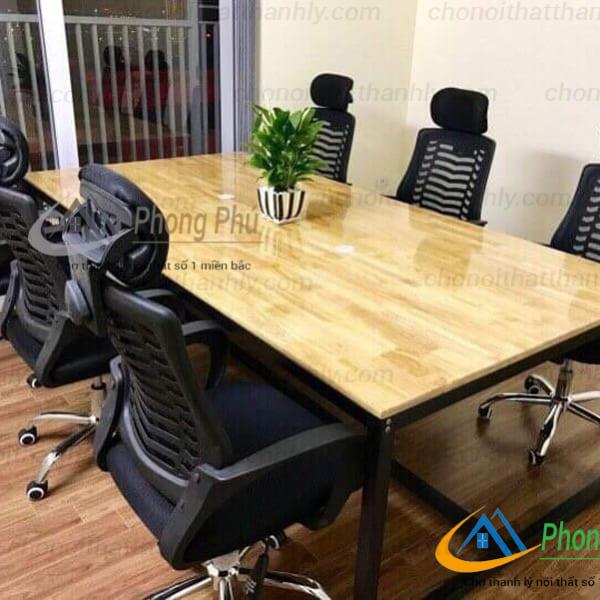 Vì sao bàn họp chân sắt được sử dụng nhiều trong văn phòng hiện đại ? - 2