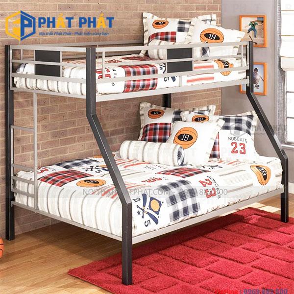Những mẫu giường tầng sắt đẹp đốn tim người dùng - 1
