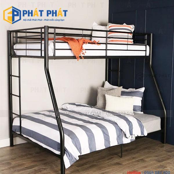 Những mẫu giường tầng sắt đẹp đốn tim người dùng