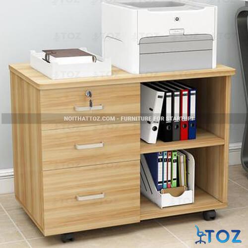 Những mẫu tủ nhỏ văn phòng cho không gian làm việc hiện đại